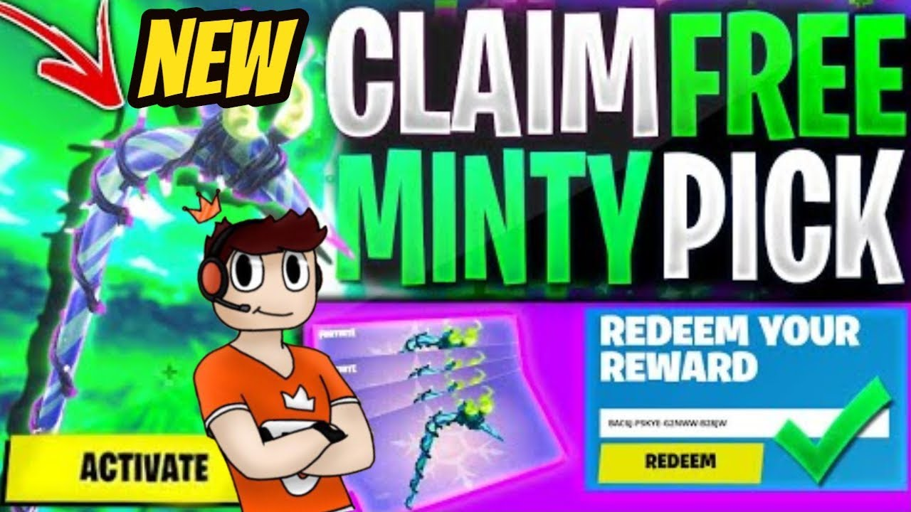 *NEW* HOW TO GET MINTY PICKAXE for FREE in Fortnite! Plus ...