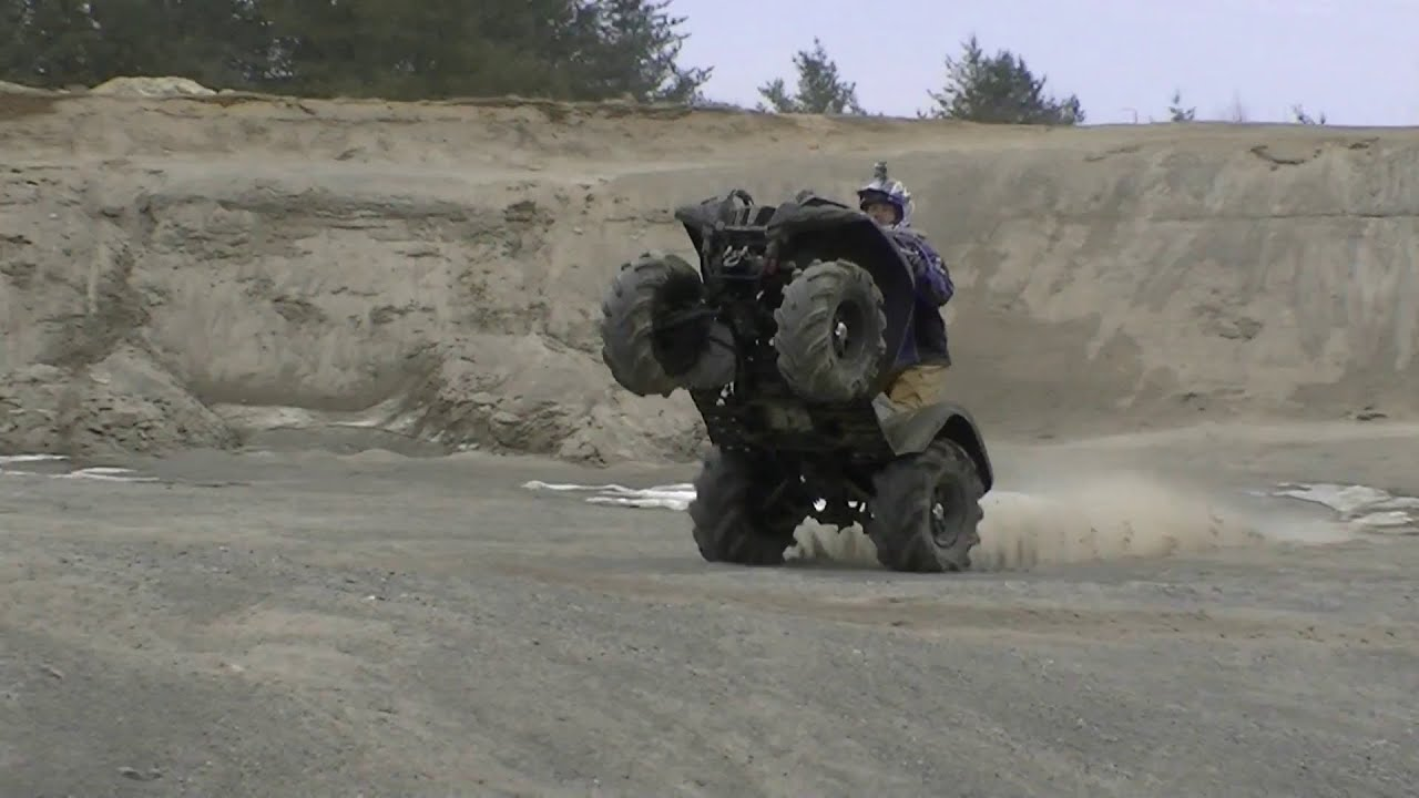 V Yamaha Grizzly Ride On