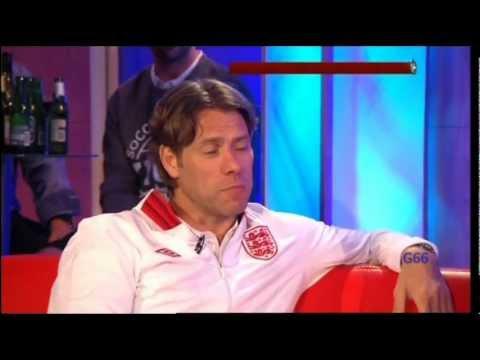 John Bishop & Michael Sheen on Soccer Aid 2012