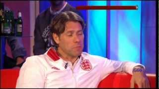 John Bishop & Michael Sheen on Soccer Aid 2012