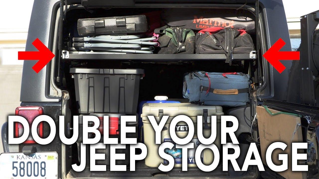 Effective Jeep Storage Vector Offroad Highland Platform Youtube