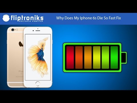 Why Does My Iphone 6s Die So Fast Fix - Fliptroniks.com