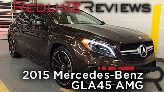 2015 Mercedes-Benz GLA45 AMG – Redline: Review