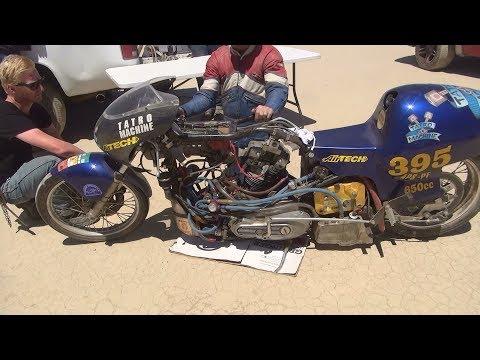 2017 #107 el mirage 650cc harley xl single sportster june scta lsr lakes race by tatro machine