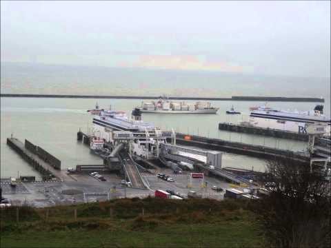 Dover Harbour Tugs in Action - 29 January 2014