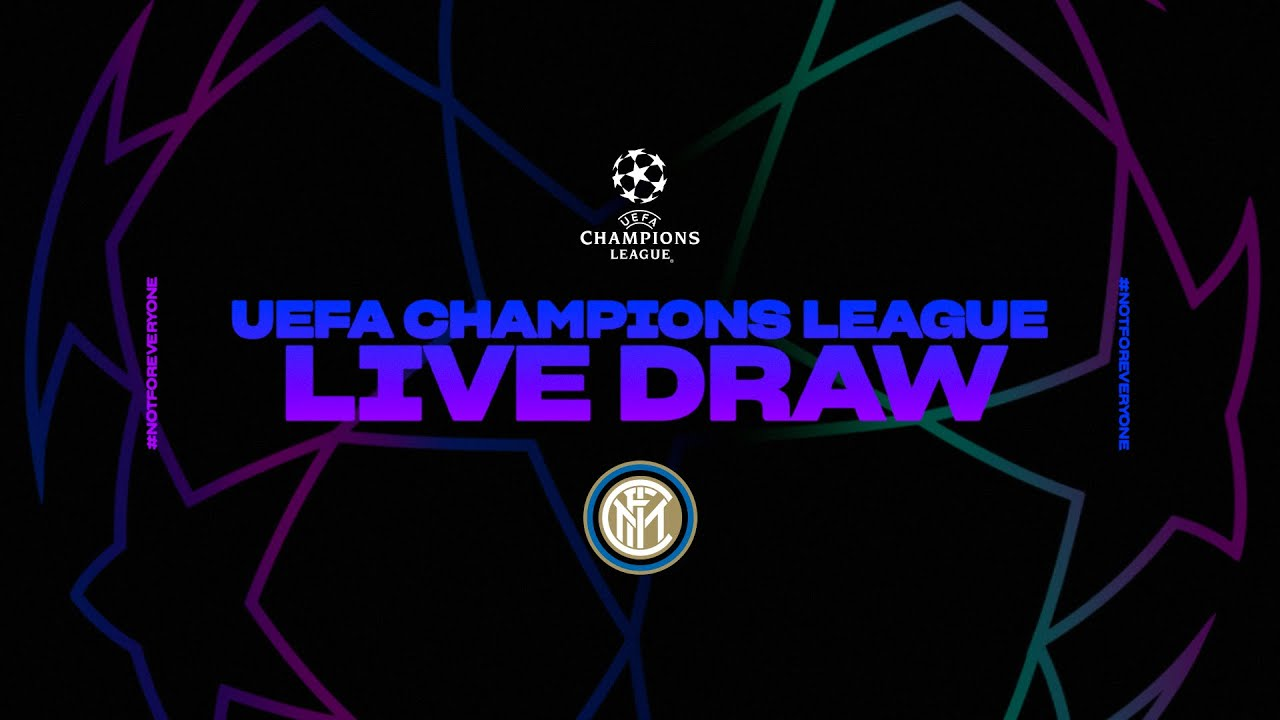 Live Streaming 2020 21 Uefa Champions League Draw Sub Eng Youtube