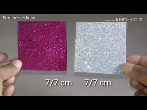 Glitter foam sheet craft/Christmas decoration 2019/Christmas Craft/Christmas Ornaments/DIY Christmas