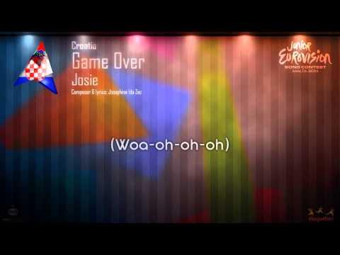 "Josie - ""Game Over"" (Croatia) - [Instrumental version]"