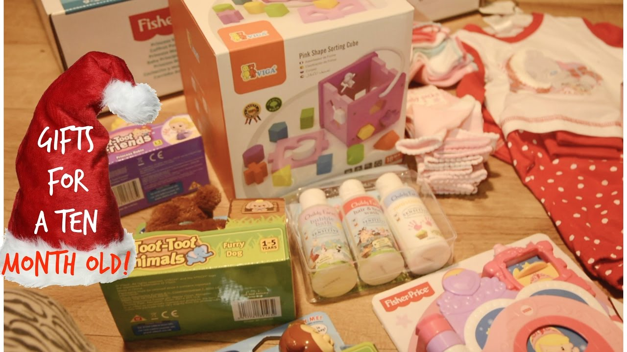 babys first christmas haul 10 months old kerry conway