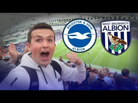 """GOALLLLSSSS"" Brighton Vs West Brom | Match Day Vlog"