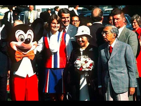 Japan's Emperor Hirohito Visits Disneyland (1975) - DisneyAvenue.com
