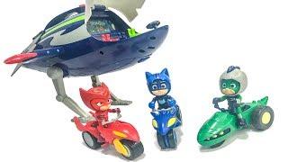 Іграшки нові Герої в масках 2 нова серія. Місячний всюдихід Алет #алет #совиныйпланер #героивмасках