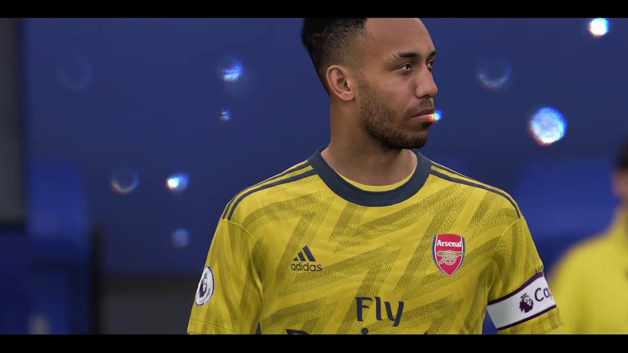 Arsenal vs Everton ⚽ | Premier League (21/12/2019) | Fifa ...
