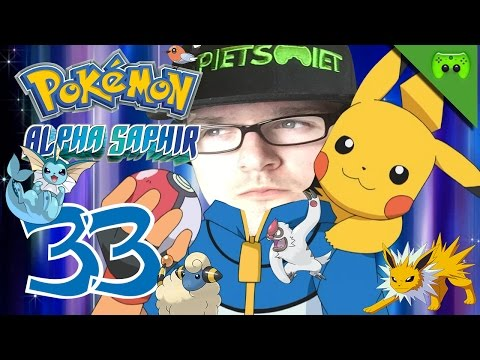 POKEMON # 33 - Durchs hohe Gras «»  Let's Play Pokemon Alpha Saphir | HD