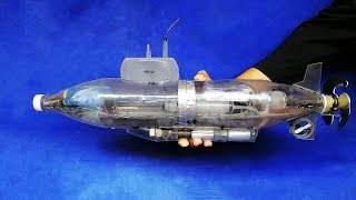 How To Make A RC Submarine - From Plastic Bottles - Amazing DIY Projects