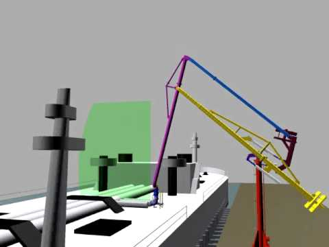 Emco Wheaton Marine Loading Arm And Safety Release System