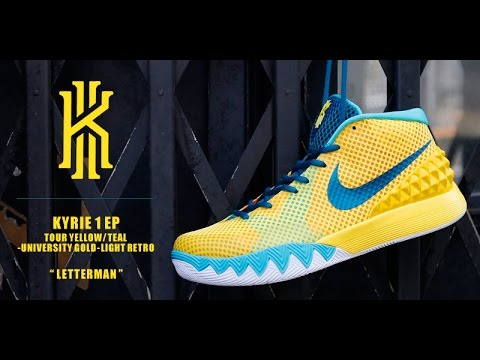 more photos 0867b 79bfa Tour Yellow Kyrie 1 Unboxing & Review