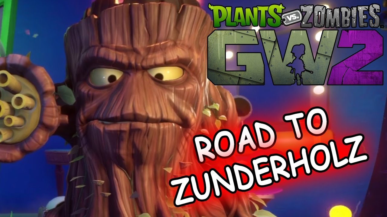 Road To Zunderholz Plants Vs Zombies Garden Warfare 2 Youtube