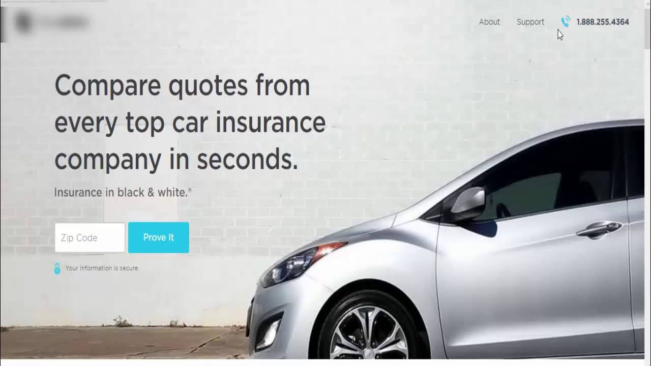 Compare Car Insurance Quotes From Different Companies >> Compare Car Insurance Quotes From Different Companies Youtube