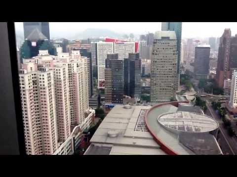 Shenzhen, China from Grand Hyatt Hotel