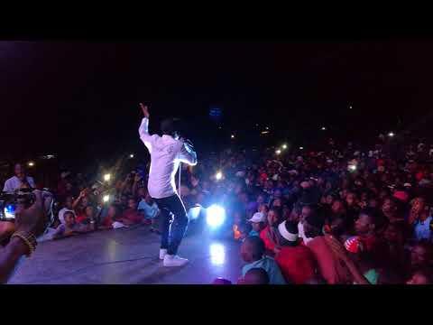 KINNAH LIVE PERFORMANCE AT MABVUKU TAFARA CHEMHANZA STADIUM