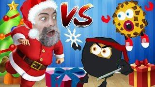 ПЕЧЕНЬКИ ПРОТИВ САНТА КЛАУСА НОВОГОДНИЕ ПРИКЛЮЧЕНИЯ Cookies Vs Claus
