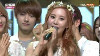 Girls Generation ( SNSD ) - PARTY  Win No 1 Show Champion 150715 - Stafaband