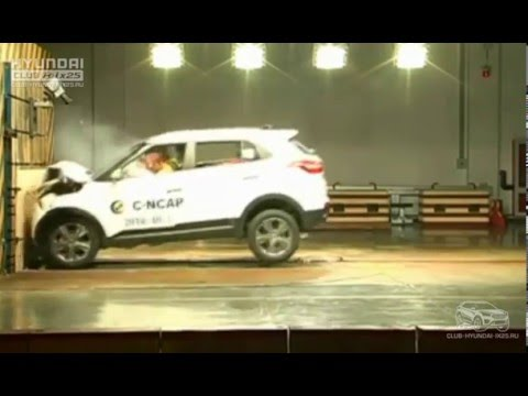 Crash Test Hyundai Creta ix25 краш тест Крета 2018
