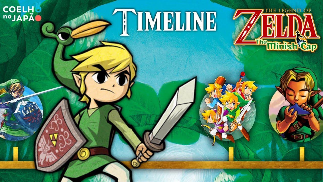 The Legend of Zelda: The Minish Cap ❘ A Timeline completa 02 ❘ #CoelhoDoc