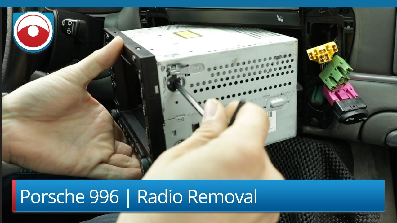 Porsche 911 (996) | PCM 2 0 | Radio Removal