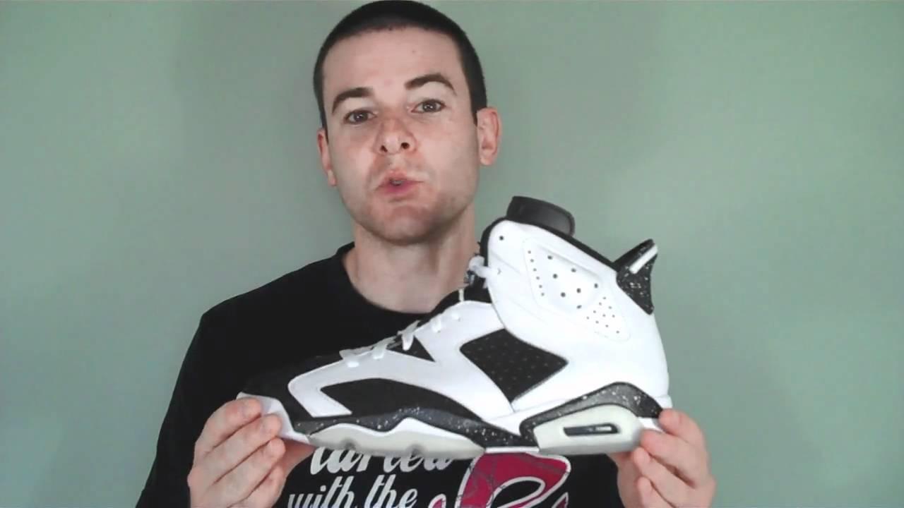 fa038d93a1e2 Air Jordan 6 VI Retro Oreo Edition 384664-101 - YouTube