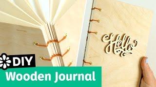 DIY Wooden Journal   Sea Lemon