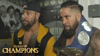 The Usos on what it means to beat three other teams: Exclusive, Dec. 17, 2017