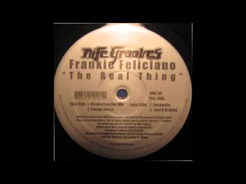 Frankie Feliciano - The Real Thing (Ricanstruction Mix)