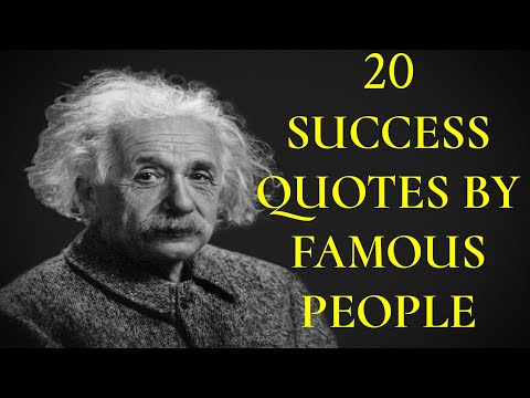 20 Quotes On Success By Famous People | Inspirational Quotes | Positive Zone