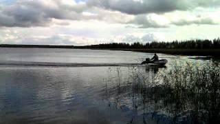видео Моторная лодка Колибри КМ-300