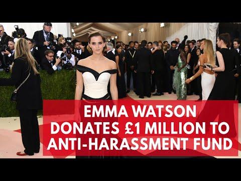 Emma Watson donates £1 billion to anti sexual harassment campaign