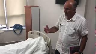 Lyme Kliniği Ziyareti - Prof Dr Barbaros Çetin - Lyme Koordinatörü Selçuk Kaya