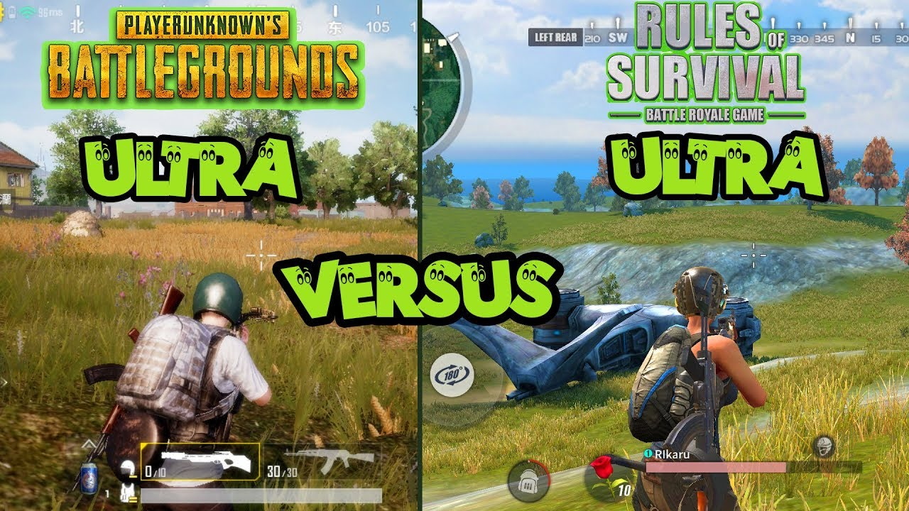 Meme pubg vs mobile legend