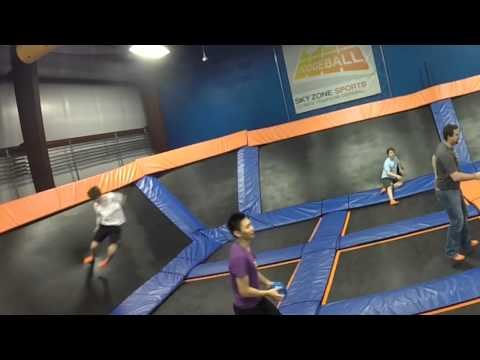 South Kent School at Sky Zone Trampoline