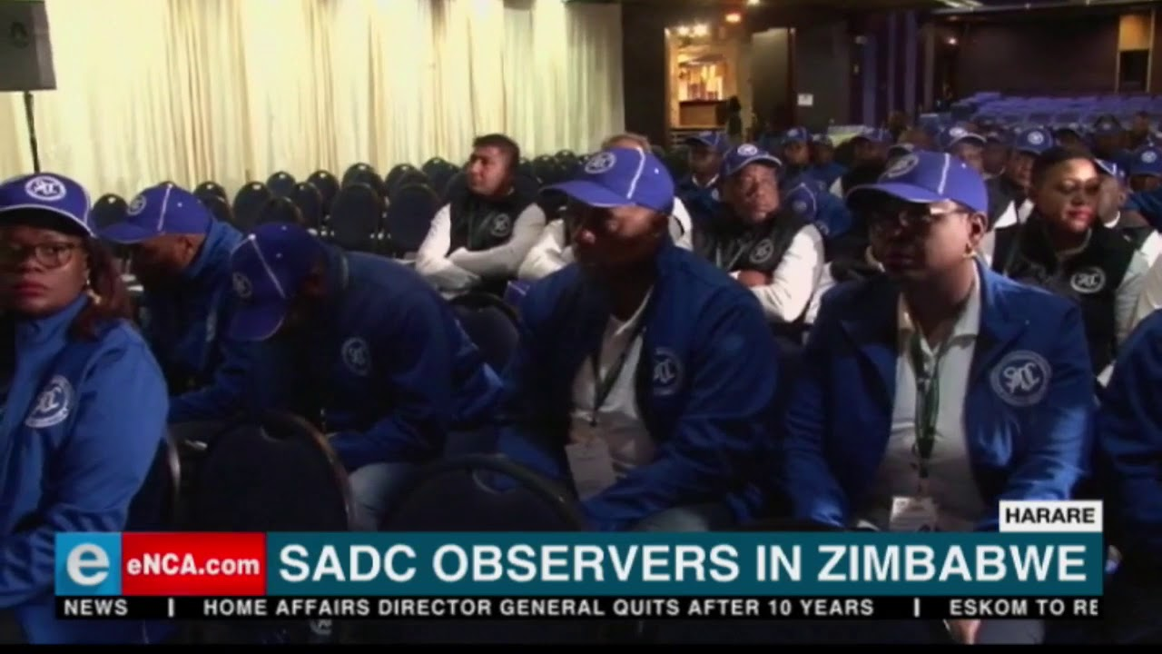 Download Observers in Zimbabwe for elections