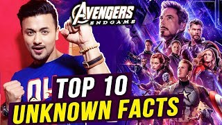 Avengers Endgame TOP 10 Unknown Facts | Thanos Vs Super Heroes | Russo Brothers
