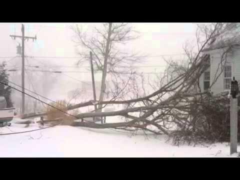 Storm hits Wellfleet