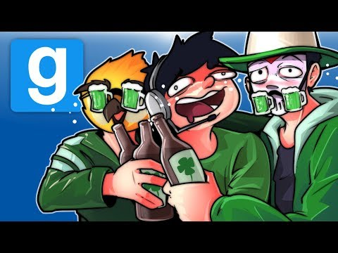 Gmod Ep. 73 Hide And Seek! - St. Patrick's Day Drunk! (Garry's Mod Funny Moments)