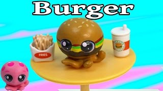 Custom Lps Octopus Cheeseburger Inspired Diy Littlest Pet Shop Fast Food Burger Cookieswirlc