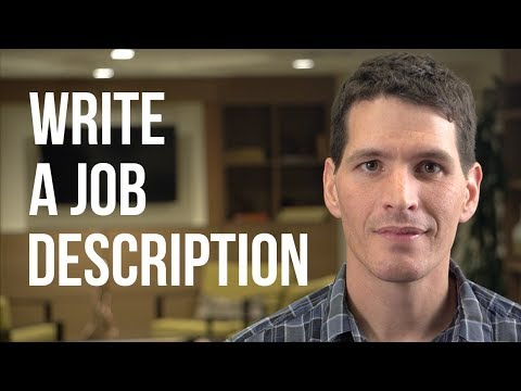 How to Write a Great Job Description in Seven Steps