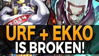 URF EKKO IS BROKEN!! - 2016 Gameplay League of Legends