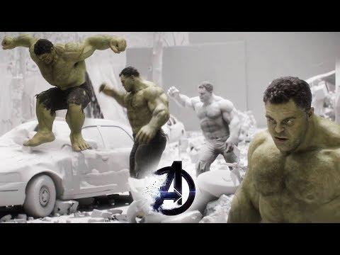 Avengers: Endgame VFX Breakdown | Creating CGI Hulk