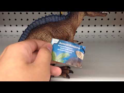 Schleich 2017 Conquering the Earth dinosaurs Acrocanthosaurus short review