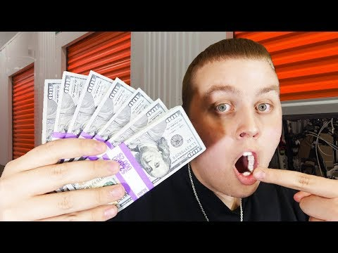 Finding Money In Storage Unit! Over $1,000 Cash in $70 Unit! Storage Unit 2